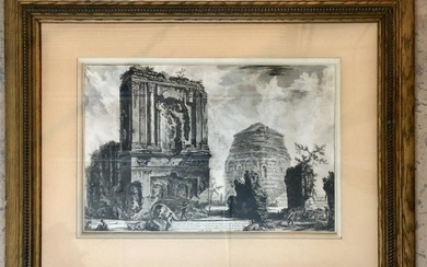 Giovanni Piranesi Etching, Circa 1764