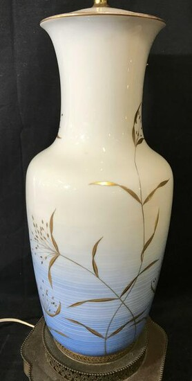 Hand Painted ROSENTHAL Tabletop Lamp