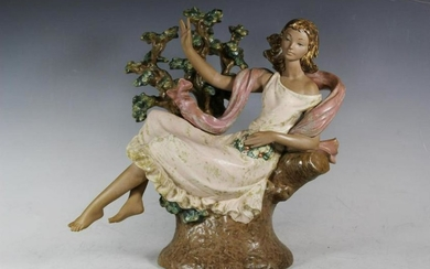 Day Dream Flora Lladro, Large Retired