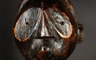 Head of a spirit (1) - Wood - Gabon - 1st half 20th century