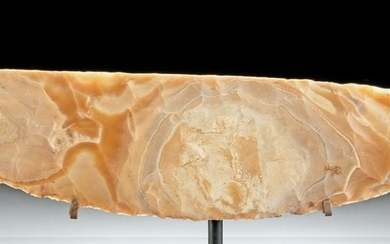 Huge Egyptian Pre-Dynastic Naqada III Flint Knife
