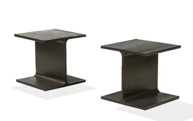 I-Beam Occasional Tables - Pair