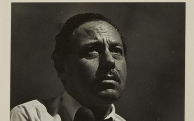 [Literature] [Williams, Tennessee] Snitzer, Herb Tennessee Williams 1961. Mounted...