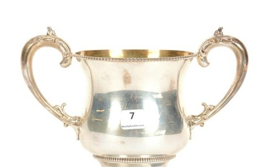 Loving Cup, Sterling Silver Marked Howard NY #727