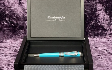 Montegrappa - Ballpoint - Limited Edition Icons Elvis Presley Ballpoint Pen Aqua ISICEBSA