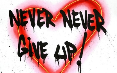 Mr. Brainwash - Speak from the Heart (Never Give Up)