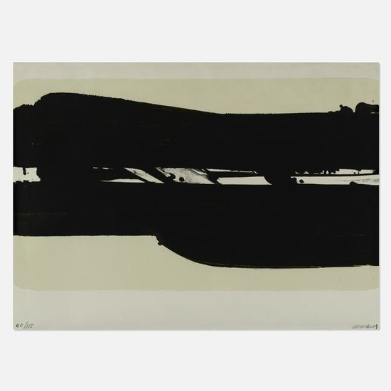 Pierre Soulages, Lithographie no. 39
