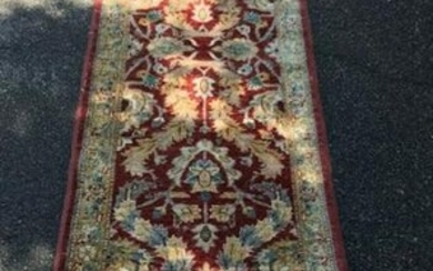 Quality Hand Knotted Vegetable Dyed Carpet Runner