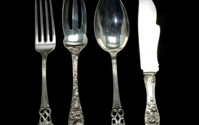 Sterling Silver Flatware Including Mauser, Howard, and