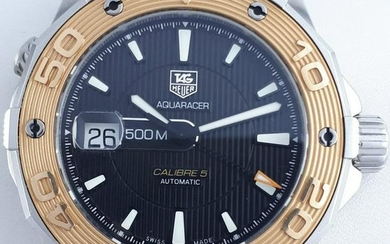 TAG Heuer - Aquaracer 500M Calibre 5 Automatic Gold &