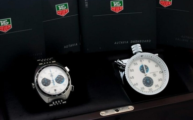 Tag Heuer CY2110 Autavia Siffert Blue Watch Dashboard