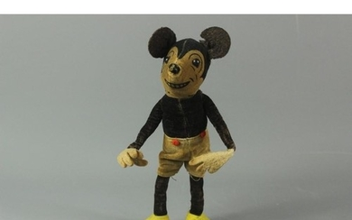 Vintage Deans Rag Dolls Mickey Mouse, reg. no. 750811, appro...