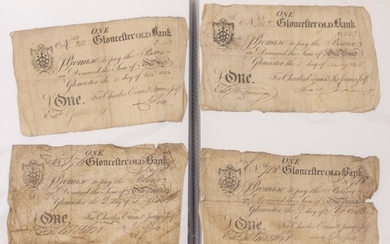 19TH AND EARLY 20TH CENTURY ENGLISH BANK NOTES to...
