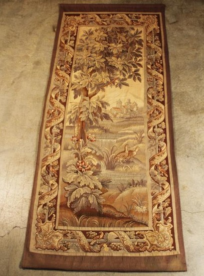 19TH C. FRENCH AUBUSSON TAPESTRY