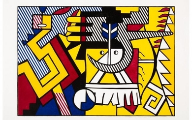 65070: Roy Lichtenstein (1923-1997) American Indian The