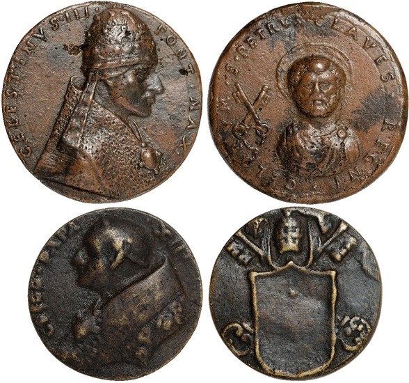 A Collection of Papal Medals and Coins