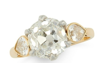 A DIAMOND DRESS RING, THEO FENNELL in 18ct yellow and