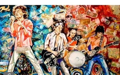 A Ronnie Wood 'What Price Tickets', giclee print on paper, s...