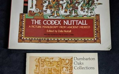 Anicent Mexico Pre Columbian Art Book Lot Of Two