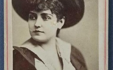 Antique photograph of Lillian Russell