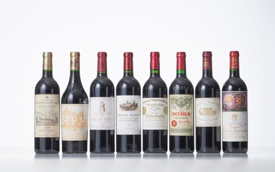BOX BORDEAUX COLLECTION DUCLOT OF 8 BOTTLES including