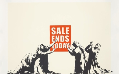 Banksy, Sale Ends, from Barely Legal