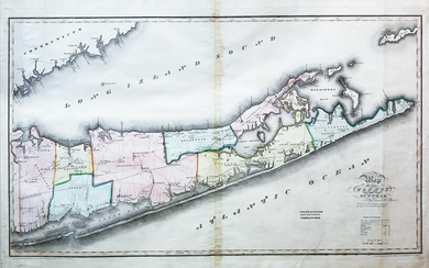 Burr Map of the county of Suffolk