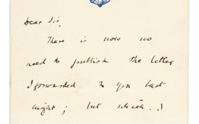 [CHURCHILL]--AUTOGRAPH ALBUM | Containing c.275 items including a letter by Churchill