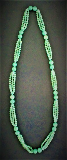 Chinese Green Quartz Necklace FR3SH
