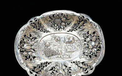 Fine Renaissance Revival Chased and Repousse