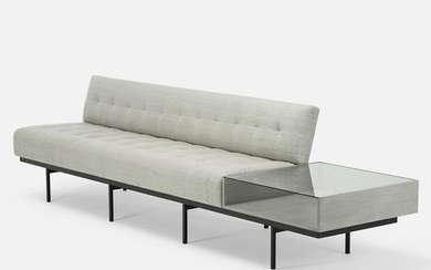 Florence Knoll, sofa with attached table