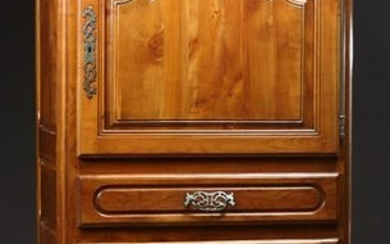 French Provinical Carved Cherry Louis XV Style Homme