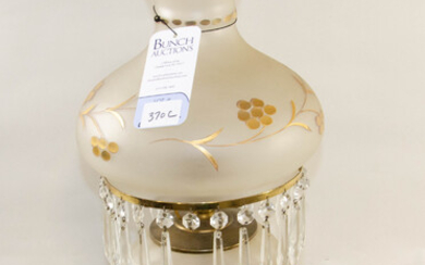 Frosted Glass GWTW Lamp