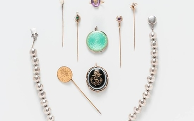 Group of Vintage and Antique Jewelry