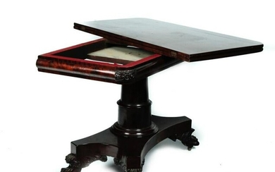 HIGH STYLE EMPIRE DINING TABLE.