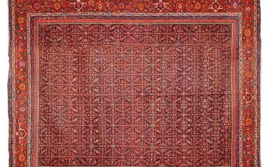 Important and very beautiful FÉRAHAN carpet (Persia), woven around 1880.