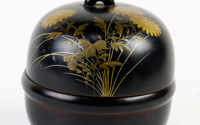 Japanese Lacquer Cookie Jar