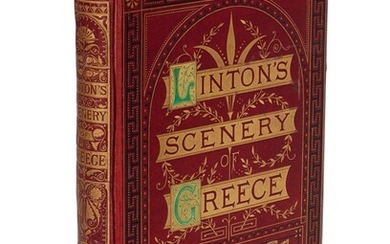Linton. The scenery of Greece and its islands, [?1869]. 4to. original cloth