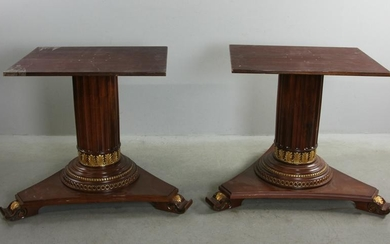 Pair of French Empire Style Table Bases