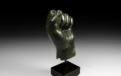Roman Clenched Statue Fist