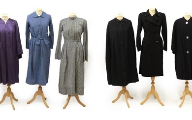 Six Items of Circa 1930's-1950's Ladies' Costume, comprising a Rensor...