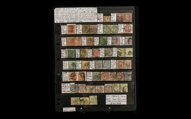 Stamp Interest - GB Queen Vic to 1935 collection from 1855 4...