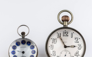 Two Paperweight Clocks