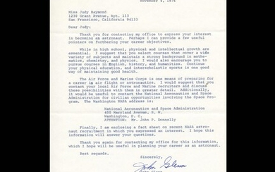 Typed Letter - SIGNED