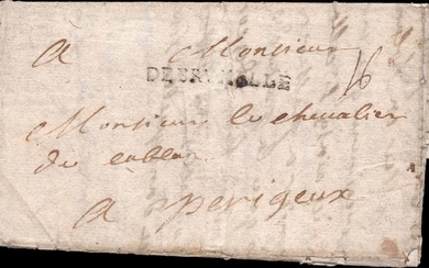 WAR OF THE SPANISH SUCCESSION - BELGIUM - MILITARY LETTER WI...