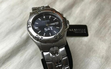 Caravelle Bulova Stainless Steel Wristwatch