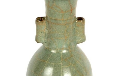 Chinese Song Style Ge-Type Celadon Arrow Vase