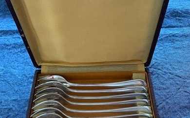 Christofle - Christofle - Oyster forks (12) - Art Deco - Silverplate
