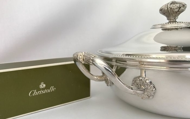Christofle modèle Perles - Vegetable (1) - Silver plated
