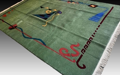 Contemporary Art - Rug - 304 cm - 201 cm